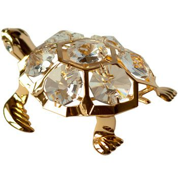 CRYSTOCRAFT Figurine Sea Turtle