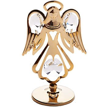 CRYSTOCRAFT Figurine GUARDIAN ANGEL