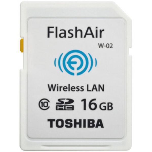 Toshiba FlashAir™ II Wireless SD Card, 16GB Image
