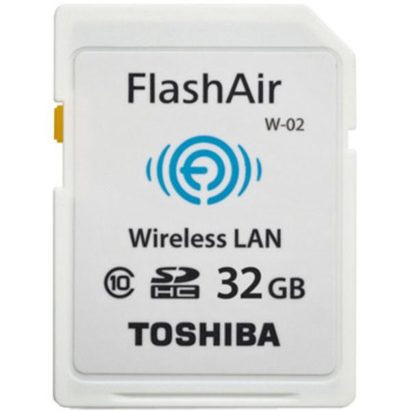 Toshiba FlashAir™ II Wireless SD Card, 32GB Image