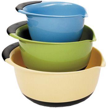 OXO® Three-Piece Mixing Bowl Set