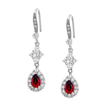 Pica LéLa Red Royalty Earrings