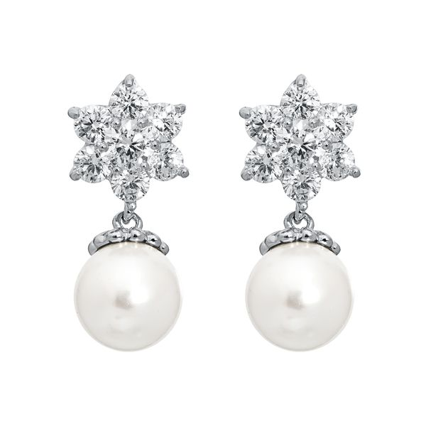Pica LéLa Snow White Pearl Earrings Image