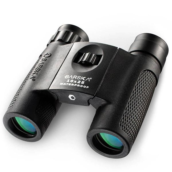 Barska BLACKHAWK Waterproof Binocular 10×25 Image