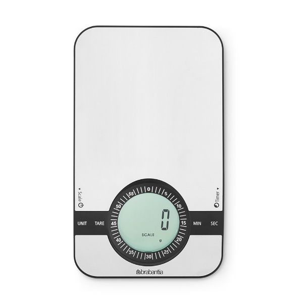 Brabantia Digital Kitchen Scale with Timer Image
