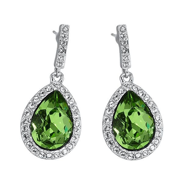 Pica LéLa ROYAL Peridot Drop Earrings Image