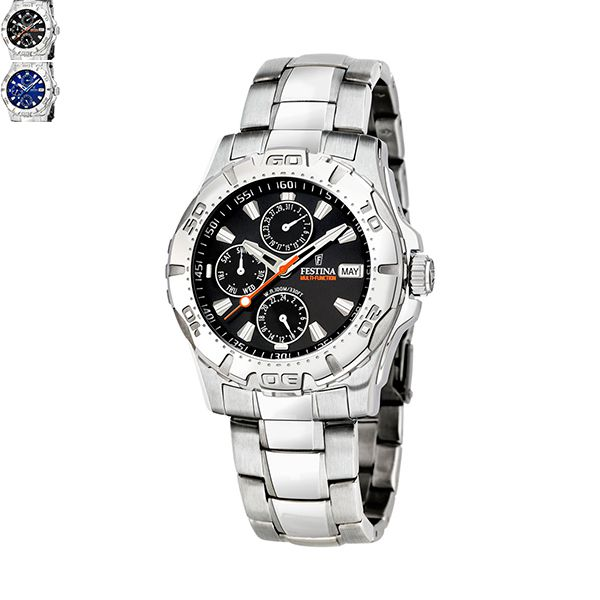 Festina SPORT Gents Watch with Stainless Steel Bracelet Image
