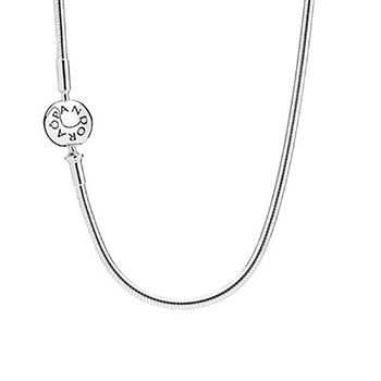 PANDORA Sterling Silver Clasp Necklace