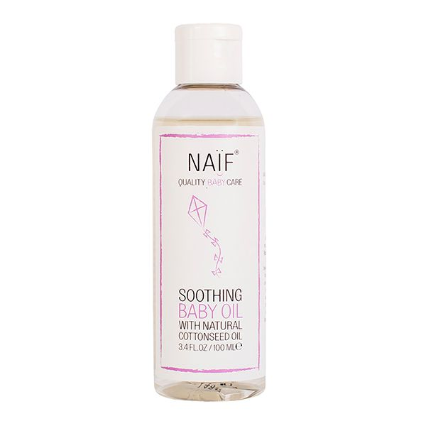 Naif Soothing BabyOil Image