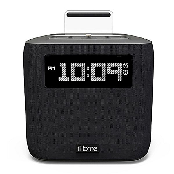 iHome IPL-24 Dual Alarm Clock Radio with Lightning Connector Image