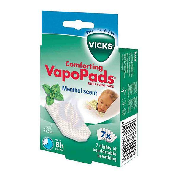 Vicks VH 7 Comforting VapoPads Methol Image