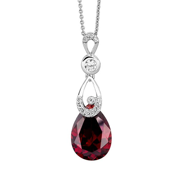 Pica LéLa RED ROYALTY Pendant Necklace Image