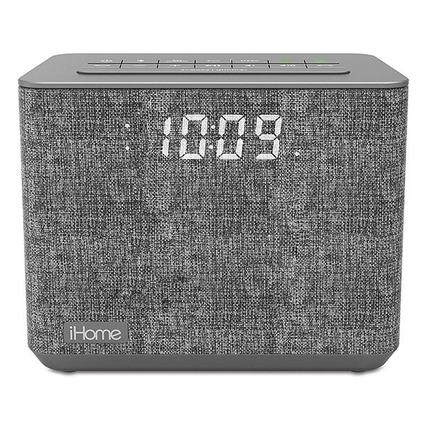 iHome iBT232 Bluetooth Alarm Clock Radio with USB Charging Image