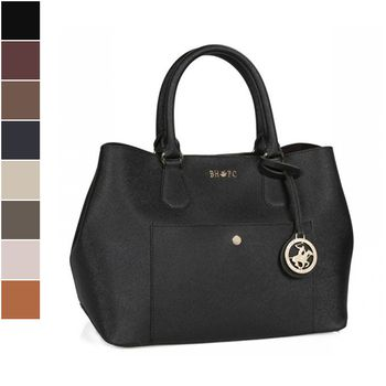 Beverly Hills Polo Club Saffiano Tote Bag