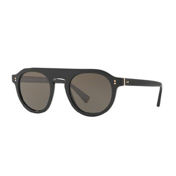 Dolce & Gabbana DG4306 Oval Men's Sunglasses