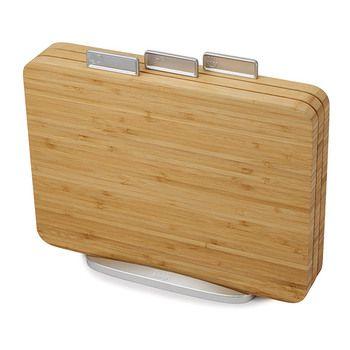 Joseph Joseph INDEX™ Bamboo Chopping Boards - 3pcs