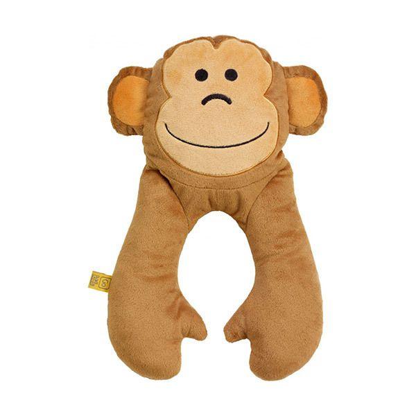 Go Travel Monkey Baby Neck Pillow Image
