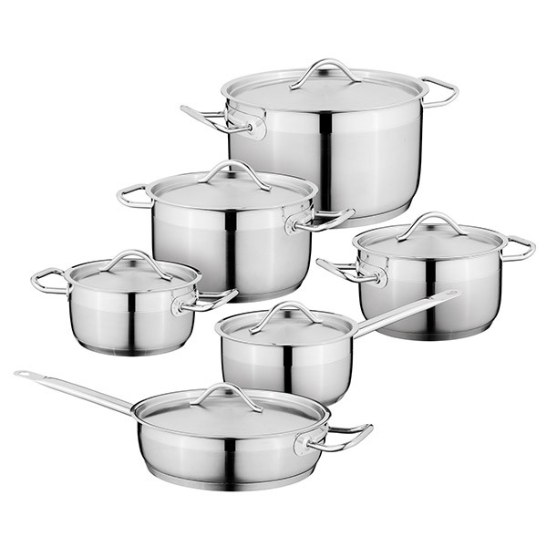BergHOFF ESSENTIAL Hotel Cookware Set 12pcs Image
