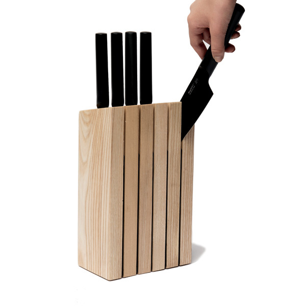 BergHOFF RON Knife Block with 5 Knives Image