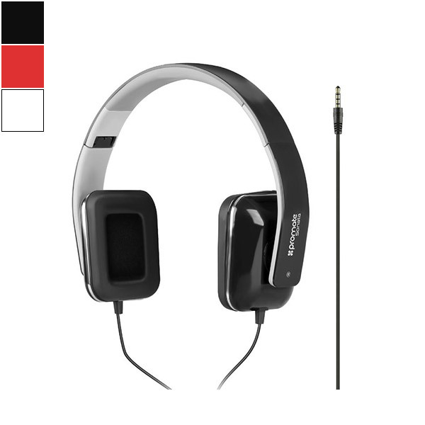Promate SONATA Wired Stereo Over-Ear Headphones Image