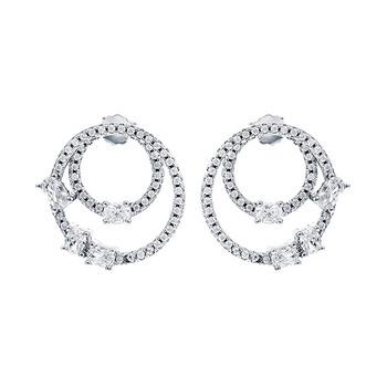 Mia's Dual Hoop Earrings