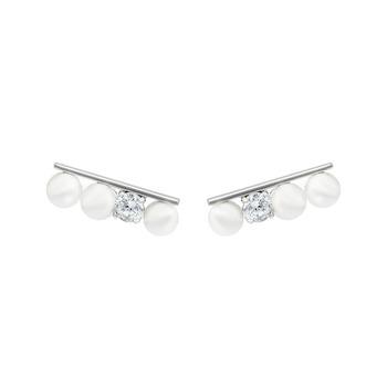 Mia's Pearl Ear Cuffs