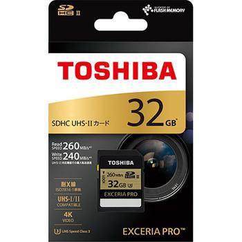 Toshiba EXCERIA PRO SDHC UHS-II Card 32GB