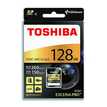 Toshiba EXCERIA PRO SDHC UHS-II Card 128GB