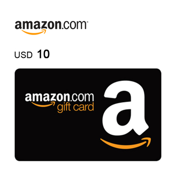 Amazon.com e-Gift Card $10