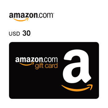 Amazon.com e-Gift Card $30