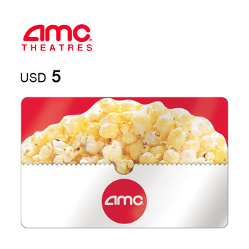 AMC Theatres e-Gift Card $5