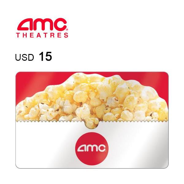 AMC Theatres e-Gift Card $15 Image
