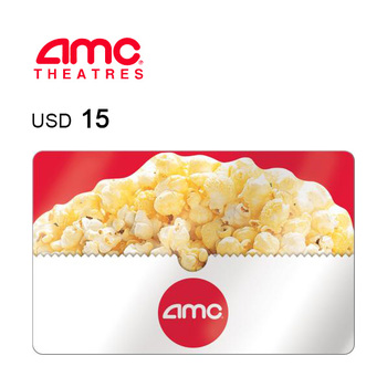 AMC Theatres e-Gift Card $15