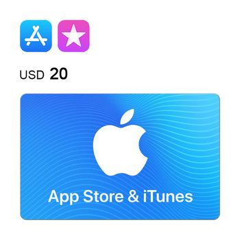 App Store & iTunes e-Gift Card $20