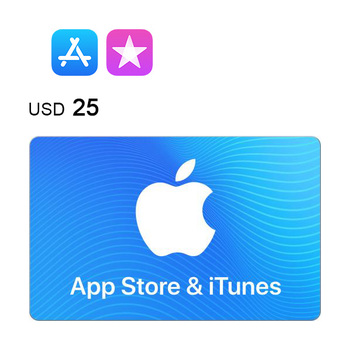 App Store & iTunes e-Gift Card $25