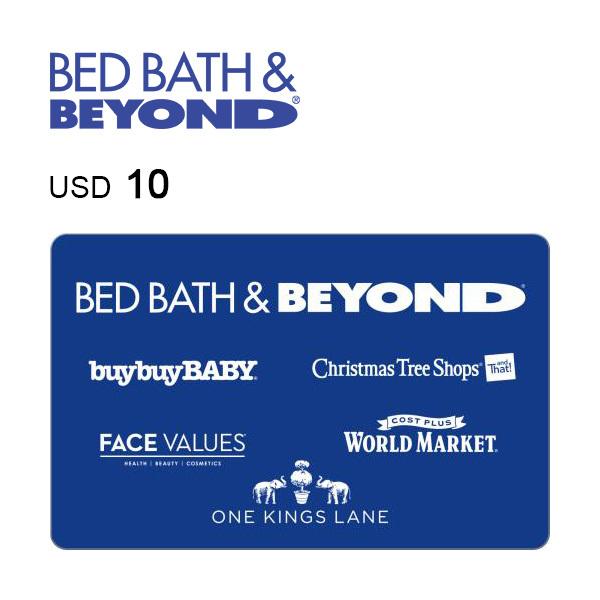 Bed Bath & Beyond e-Gift Card $10 Image