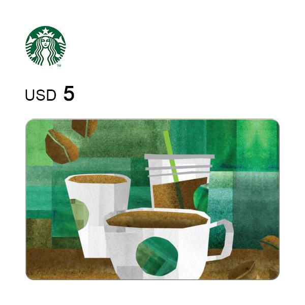 Starbucks e-Gift Card $5 Image