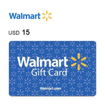 Walmart e-Gift Card $15