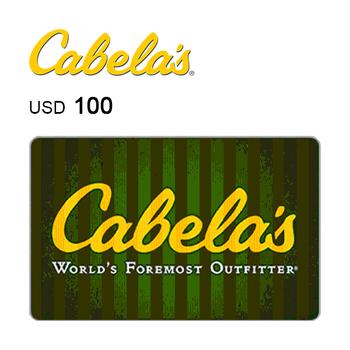 Cabela's e-Gift Card $100