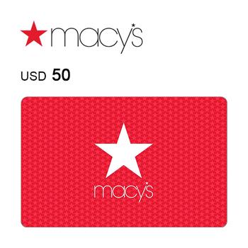 Macy's e-Gift Card $50