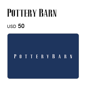 Pottery Barn e-Gift Card $50